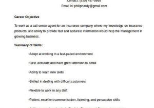 Call Center Resume Examples and Samples Call Center Resume the Key Success for the Applicants