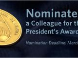 Call for Nominations Email Template President S Service Award for Excellence Ubc Human Resources