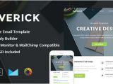 Campaign Monitor Responsive Email Template Maverick Responsive Email Stampready Builder by