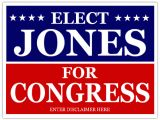 Campaign Yard Sign Templates Congress Campaign Signs Cheap Political Sign