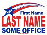 Campaign Yard Sign Templates Political and Election Yard Signs Templates A G E Graphics