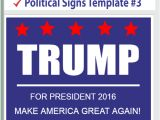 Campaign Yard Sign Templates Political Templates