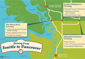 Can You Cross the Border with Just A Nexus Card Seattle to Vancouver Canadian Border Crossing