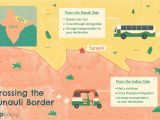 Can You Fly with A Border Crossing Card India Nepal Sunauli Border Crossing Tips