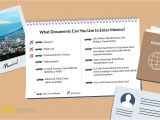 Can You Fly with A Border Crossing Card What Documents Do You Need to Travel to Mexico