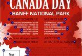 Canada Brochure Template Canada Day Flyer Canada Ticket Printing