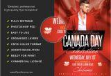 Canada Brochure Template Canada Day Flyer Template 2 Flyerheroes