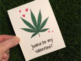 Cannabe Your Valentine Card with Joint Weed
