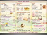 Canteen Menu Template Elegant Playful Menu Design Design for Leo Cullia A
