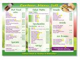 Canteen Menu Template Elegant Playful School Menu Design for A Company by
