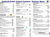 Canteen Menu Template School Canteen Menus Google Search Hpe Pinterest
