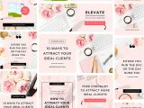Canva Email Newsletter Template Canva social Media Templates Bluchic