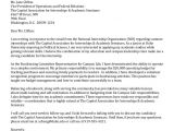 Capitol Hill Cover Letter Undergraduate Student Cover Letter Collection