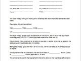 Car Contract Template Car Purchase Contract Template Tips Guidelines Car