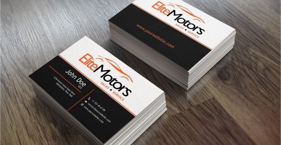 Car Dealer Business Cards Templates Car Dealer Business Cards Business Card Templates
