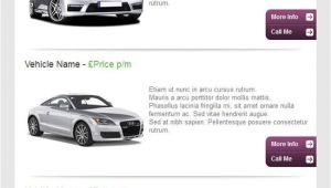 Car Dealer Email Templates Specialist Email Marketing for Car Dealerships
