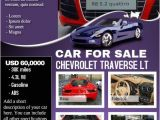 Car Dealership Flyer Templates Car Deal Flyer Contains Both Car Listing and Business