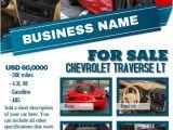 Car Dealership Flyer Templates Light Colored Car Dealership Flyer Template Postermywall