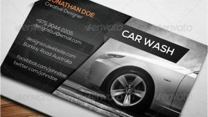 Car Detailing Business Cards Templates 7 Car Wash Business Card Templates Free Psd Design Ideas