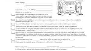 Car Hire Contract Template Uk Pmm0016 Hire Car Condition Agreement form Pad Rmi