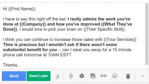 Car Sales Email Templates 5 Cold Email Templates that Actually Get Responses Bananatag