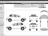Car Wrap Templates Free Download Car Vehicle Damage Diagram Car Free Engine Image for