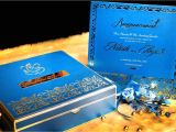 Card Box for Wedding Invitation Turquoise Metal Wedding Invitation Stamp Wedding Card