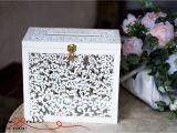Card Box Ideas for Wedding Wedding Card Box with Slot Card Box with Lock White