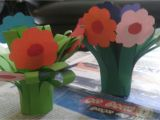 Card Decoration with Paper Flower Birthday Decorations by Methni Peiris On Methni S Handwork