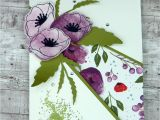 Card Decoration with Paper Flower Pin On Occasions 2020