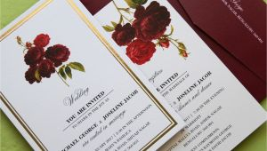 Card Design for Wedding Invitations Debonair Wedding Floral Cards Weddingcard Invitationcard