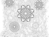 Card Flower Black and White Monochrome Floral Background Hand Drawn ornament with