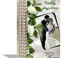 Card for Anniversary with Name Alwaysgift Wedding Anniversary Greeting Card