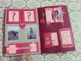Card for Best Friend Handmade Handmade Scrapbook