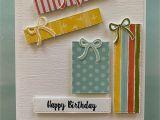 Card for Best Friend Handmade Stampin Up Sale Happy Birthday Presents Birthday