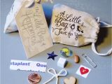 Card Holder for Wedding Gifts Little Bag Of Happiness