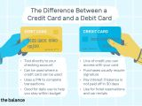 Card Holder Name Meaning In Marathi the Difference Between Credit Card and A Debit Card