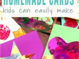 Card Ideas for Birthday Handmade Four Simple Cards Kids Can Make Thank You Card Design