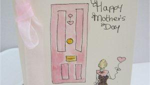 Card Ideas for Mom S Birthday Handmade Watercolour Card Mum Card Mothers Day Card Mothers Day