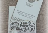 Card Ideas for Wedding Anniversary Wedding Cards Using Detailed Floral Thinlits and Floral