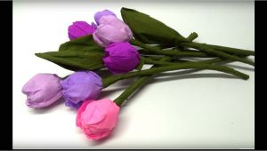 Card Ke Flower Banana Sikhaye Diy Crafts How to Make Beautiful Paper Tulip Flowers Easy Paper Crafts Diy Beauty and Easy