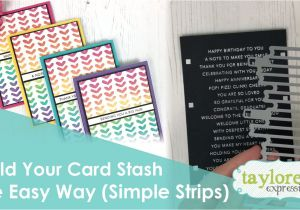 Card Making Handmade Greetings for All Occasions Every Card Maker Has A Card Stash On Hand for Occasions that