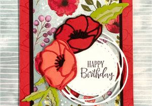 Card Making Handmade Greetings for All Occasions Peaceful Poppies Card In 2020 with Images Poppy Cards