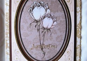 Card Making Handmade Greetings for All Occasions Vintage Roses Handmade Greetings Card Greeting Cards