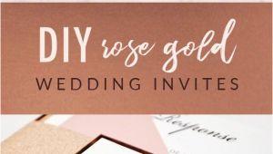 Card Making Wedding Card Ideas Diy Rose Gold Wedding Invitations Free Wedding Invitation