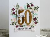 Card Messages for 50th Wedding Anniversary 50th Anniversary Card 50th Anniversary Cards Anniversary