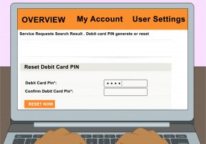 Card Name On Debit Card Easy Ways to Recover Your atm Pin 11 Steps with Pictures