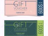 Card Name On Debit Card Gift Voucher Vector Illustration Ad Voucher Gift