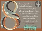 Card Of Life Birthday Chart Numerology 8 Life Path Number 8 Numerology Meanings