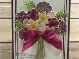Card Picks for Flower Arrangements Stampin Up Beautiful Bouquet Beautiful Bouquet Flowers